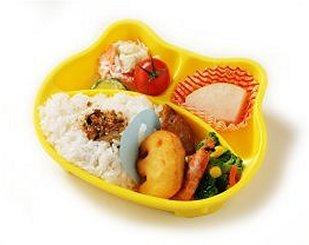 幼稚園給食のイメージ