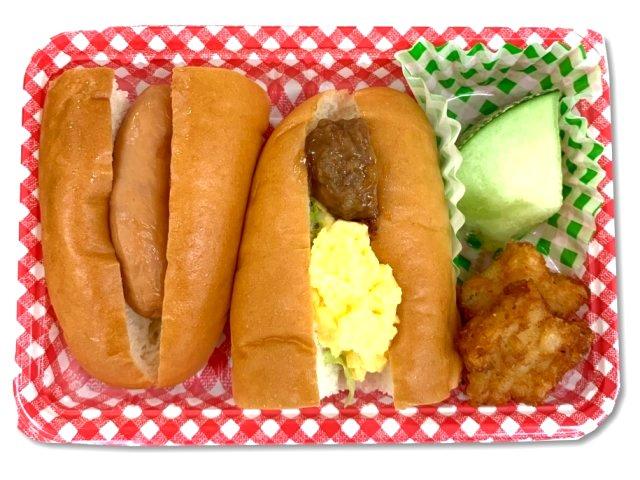 ホットドッグ&ミート玉子サンド